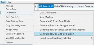 Data Gen Flow in VIP 1