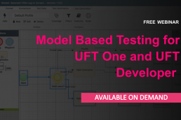 Model-Based Testing for​ UFT One and UFT Developer - Free Webinar on demand.