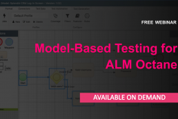 Model-Based Testing for ALM Octane free Webinar on Demand