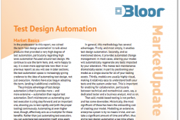 Bloor Test Design Automation Market Update Featured Image