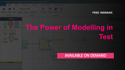 The power of modelling in test - Free online webinar available on demand