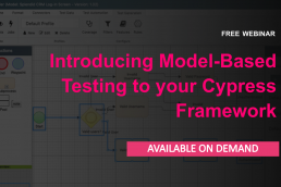 Introducing model-based testing to your Cypress framework - On demand webinar