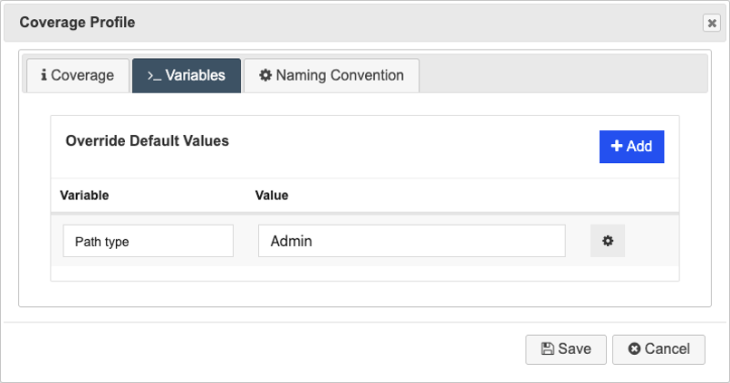 Rule Based Test Generation_Subflow Properties_New Coverage Profile_Set Variables