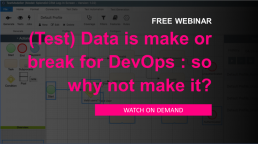 Test Data is Make or Break for DevOps and CI CD pipelines